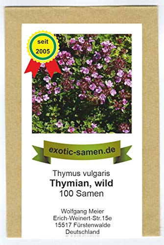 Wilder Thymian - Thymus vulgaris (100 Samen)