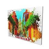 Cartagena - Lienzo decorativo para sala de estar