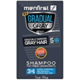 Best Shampoo For Gray Hairs - MENFIRST Gradual Gray 3-in-1 Grey Hair Reducing Shampoo Review