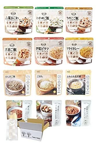 非常食 保存食 セット 長期保存 アルファ米 フリーズドライ 備蓄食料 12食