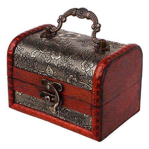 Handmade Beautiful Brass Design TEAK WOOD Trinket//Gift//Jewelry//Box//case//Storage