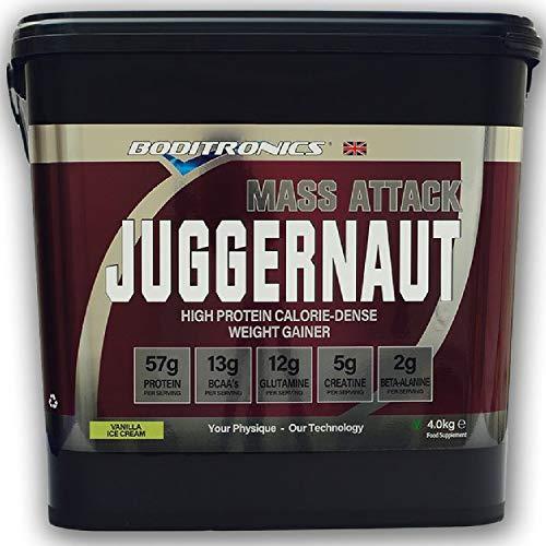 Boditronics Mass Attack Juggernaut, 4kg (Strawberries & Cream)