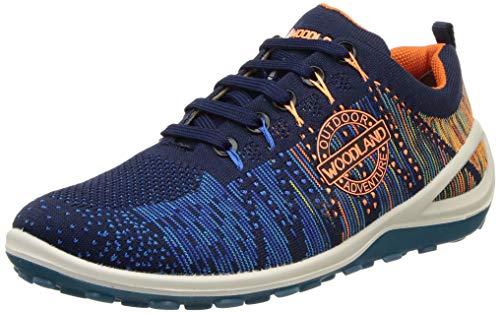 Woodland Men's Navy/RBLUE Sneaker-8 UK (GC 2994118)