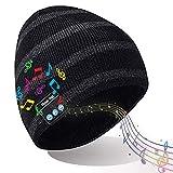 DreiWasser Bluetooth Mütze, Kopf...