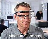 Gesichtsschutz, Augenschutz, Spuckschutz, Schutzausrüstung, Face Shield, INFEKT-PROTECT SHIELD von SCHWEIZER inklusive 15 hochtransparenten Kunststoff-Visierfolien, Made in Germany