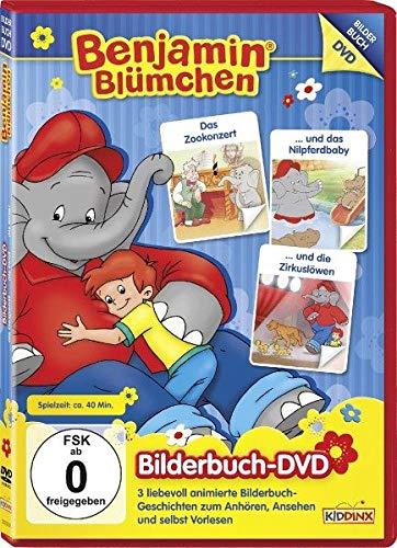 Das Zookonzert/ Und Das Nilpferdbaby/ Und die Zirkuslöwen - Bilderbuch - DVD