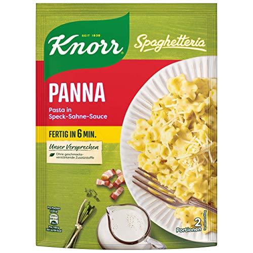 Knorr Spaghetteria Panna Nudel-Fertiggericht 2 Portionen, 10er Pack
