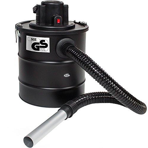 TecTake Aspirador de cenizas 20 litros 1200 vatios Filtro de Repuesto...