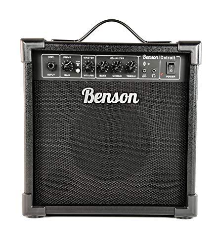 Benson Memphis 20 watt guitar Amplifier (4 band EQ + Bluetooth connectivity) FREE GUITAR CLIP TUNER
