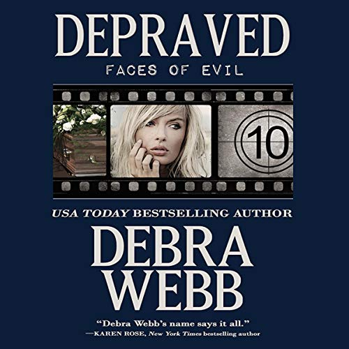 Depraved audiobook cover art