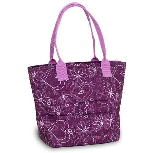 J World New York Lola Lunch Tote, Love Purple, One Size