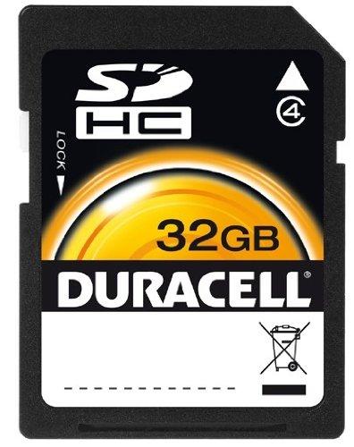 of duracell micro sd cards Duracell 32 GB Class 4 Secure Digital Card DU-SD-32GB-R