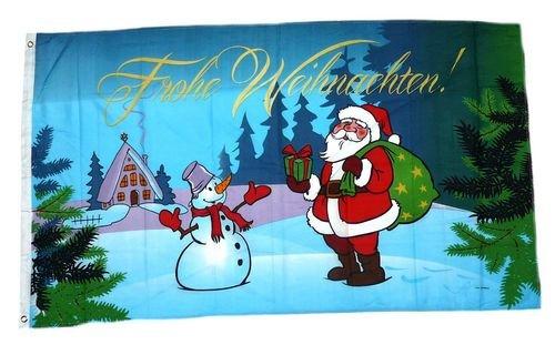 Fahne/Flagge Weihnachten Weihnachtsfahne 90 x 150 cm