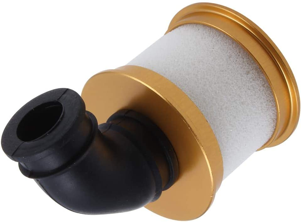 Max 65% OFF Aluminum Capped Air Filter w Daily bargain sale Sponge for RC Scale Powe 1 10 Nitro