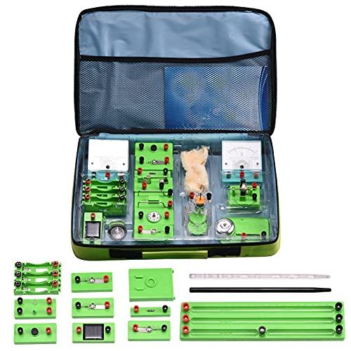 Vogvigo Physics Kit de aprendizaje de circuito eléctrico, laboratorio de ciencias Experimento...