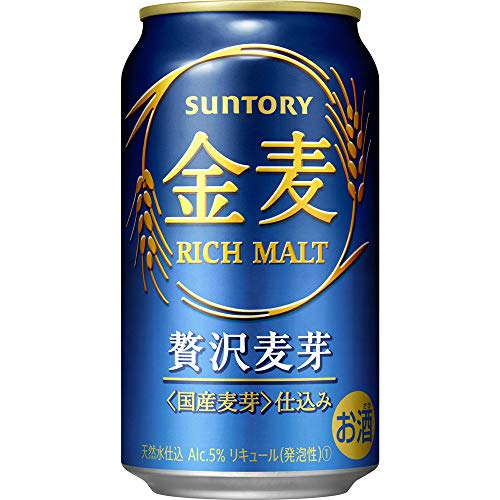 【新ジャンル/第3のビール】新・サントリー 金麦 [ 350ml×24本 ]