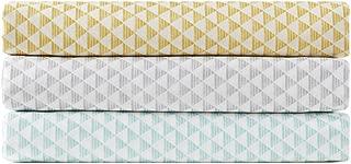 Intelligent Design Triangle Sheet Set, Yellow