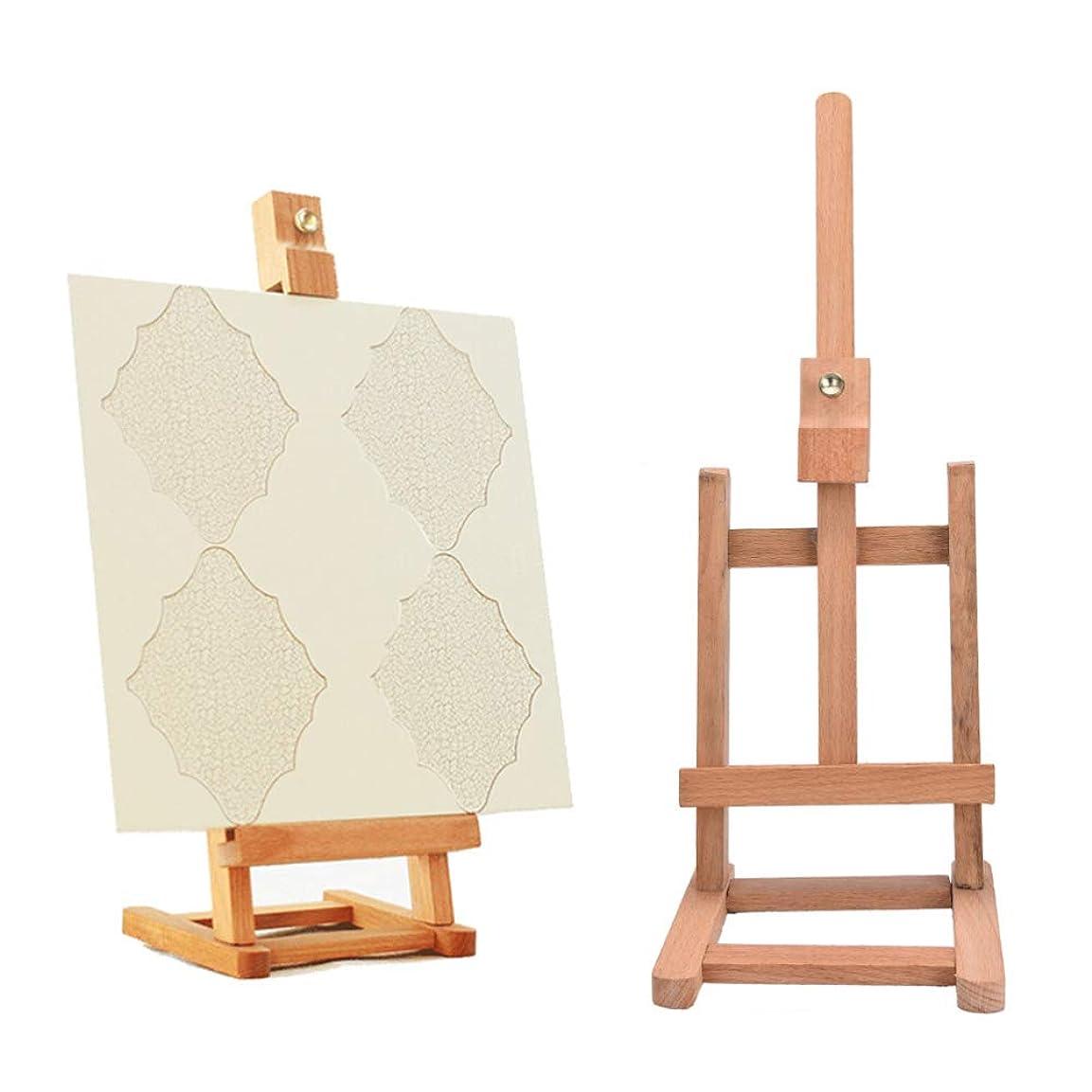 クラウンクラフト狂乱WANGSENO アーティストのためのスケッチイーゼル絵画折りたたみ式絵画イーゼル木製スケッチフレーム