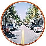 F.L.S Espejo de Tráfico Convexo de Seguridad Convexo Espejo de la Seguridad del tráfico en Carretera Espejo Esquina Volviendo Espejo Interior Blind Spot hospitales, fábricas, aparcamientos colisión