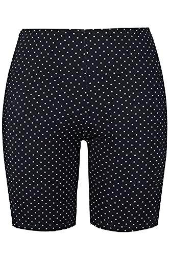 ULLA POPKEN Schwimmradler, Große Größen Pantaloncini da Bagno, Nero (Schwarz 10), 58 (Taglia Produttore: 52) Donna