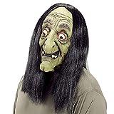 WIDMANN LLP - Máscara de Bruja con PELUCA