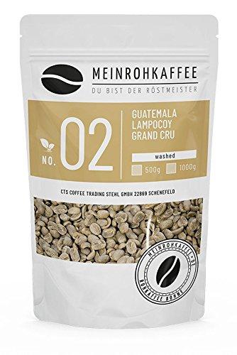 Rohkaffee - Guatemala Lampocoy Grand Cru (grüne Kaffeebohnen) - mittelkräftig, nussig - 500g