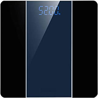 Escala de Peso Corporal,Automático Báscula Grasa Báscula Grasa Corporal Báscula de Baño- Báscula Inteligente,Medición de Alta Precisión el Peso Corporal,180kg - Exhibición del LED de la contraluz
