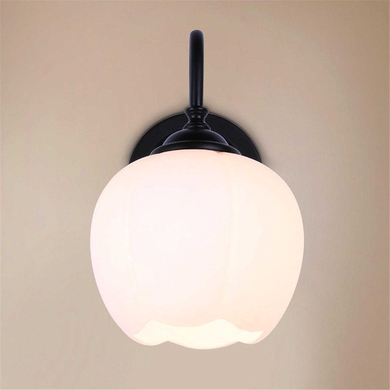 StiefelU LED Wandleuchte nach oben und unten Wandleuchten Wohnzimmer lampe Schlafzimmer Bett Wandleuchten off road lampe glas Lampenabdeckung einziges Haupt Stadt