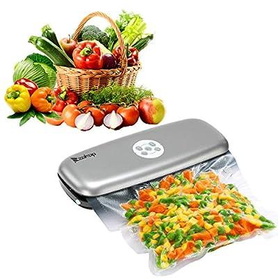 Food Vacuum Sealer Machine Integrated Cutter Mu...