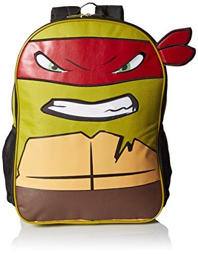 Teenage Mutant Ninja Turtle Boys' Lights and Sound Ani-Mei Backpack, Multi, One Size