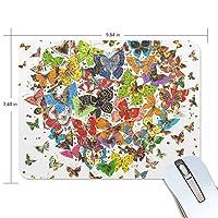 マウスパッド 蝶 チョウ ゲーミングマウスパッド 滑り止め 19 X 25 厚い 耐久性に優れ おしゃれ