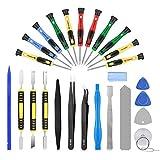 AUTOPkio 27 in 1 Repair Tool Set Kit de herramientas para iPhone 7, Huawei P8, smartphone, multimedia u otros pequeños electrodomésticos
