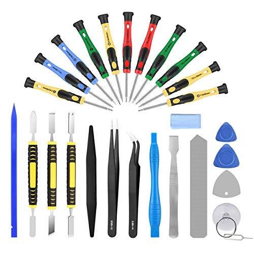 AUTOPkio 27 in 1 Kit di riparazione Cacciaviti a stella Kit di cacciaviti Set per iPhone 7, Huawei P8, altri smartphone e dispositivi