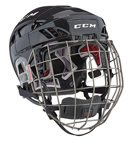 CCM Fitlite 80 Helm Combo Senior, Größe:L, Farbe:blau/Silber