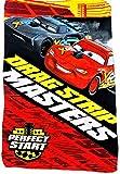 Boy's Disney Cars Drag Strip Masters Perfect Start Fleece Throw Blanket (Drag Strip)