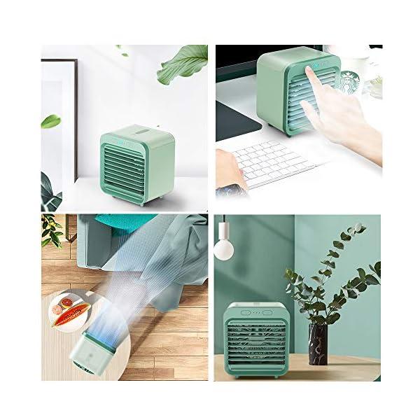 ZMCOV-Mini-Enfriador-Porttil-USB-Aire-Acondicionado-3-En-1-Climatizador-Evaporativo-Frio-Ventilador-Humidificador-Purificador-De-Aire-3-Velocidades-Ajustable-para-Oficina-Dormitorio