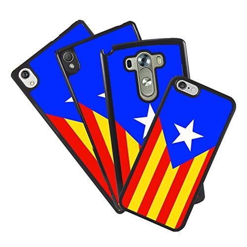 zoilastore Funda Carcasa Personalizada de móvil para Huawei P10 Plus Estelada Bandera Independencia cataluña de Goma Flexible TPU Borde Negro