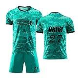YUUY Divock Origi#27 Uniformes de fútbol for Hombres, Trajes de Jersey, Chalecos Deportivos, Que absorben el Sudor y de Secado rápido, jóvenes/niños (Color : C, Size : Adult-XL)