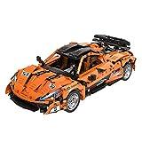 Tewerfitisme Juego de construcción para coche deportivo, 1363 bloques de construcción, compatible con Lego Technic