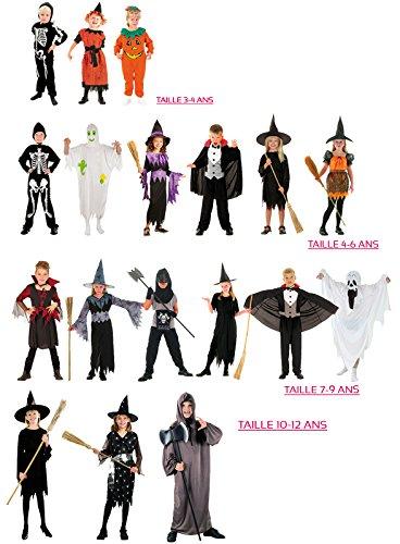 Boland - Cs98000 - Assortiment de 18 Costumes Enfants Taille/mod Ass (1 de Chaq)