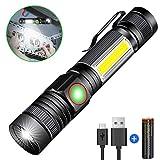 Taschenlampe LED Magnet USB Aufladbar