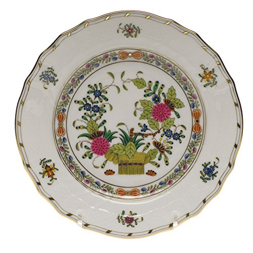 Herend Indian Basket Bread & Butter Plate by Herend