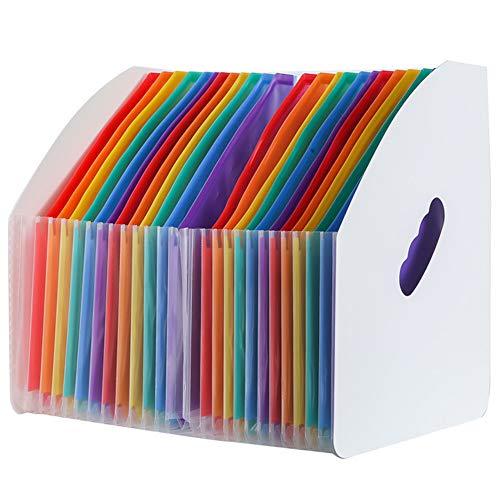 ドキュメントスタンド a4ファイル 整理 収納 分類用インデックス付ドキュメントスタンド a4 自立 縦ドキュメントスタンドA424ポケット 大容量 ドキュメントファイル ファイルケース a4 a4ドキュメントスタンド24ポケット
