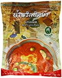 Nittaya Currypaste, rot, 1er Pack (1 x 1 kg Beutel)