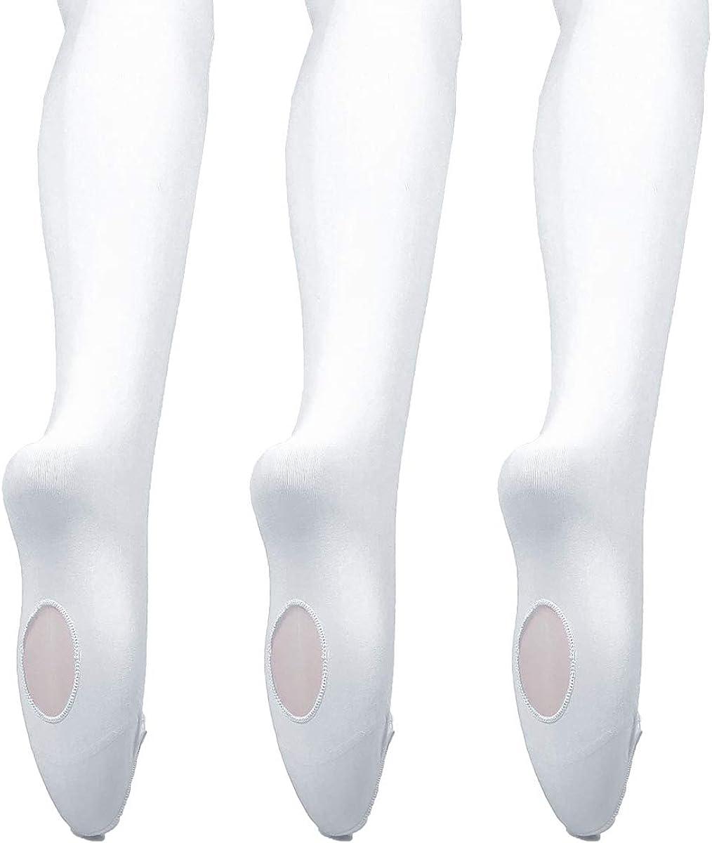 3 colors DoGeek-Medias de Ballet Ballet medias Para Ni/ñas y mujer