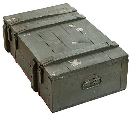 Schöne alte Munitionskiste Typ AD 81 Militärkiste Munitionsbox ca 82x51x29cm Holzkiste Holzbox Weinkiste Apfelkiste Shabby Vintage - 2