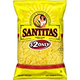 Santitas Tortilla Chips, Yellow Corn, 11 Ounce (Pack of 10)