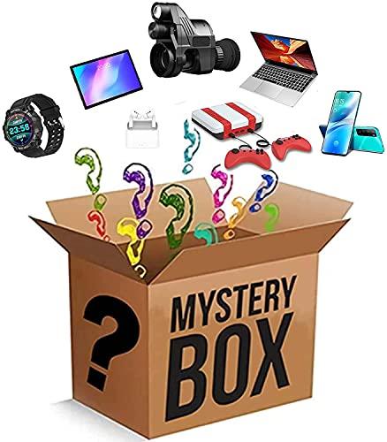 Mystery Box Electronic, Random Electronic Product Explosion Box Überraschungsbox, Schöne Geschenke:Mobile Phones, Night Vision, Laptop, Smart Watches, Spielkonsole, Etc.