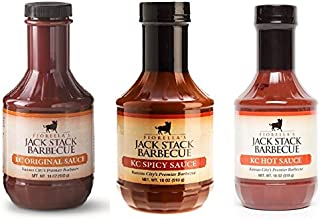 Jack Stack BBQ Sauce Variety Pack