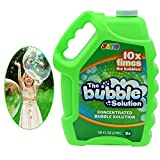 JOYIN 100 oz Bubble Solution Refills (up to 8 Gallon) Big Bubble Solution, Bubble Concentrated for Bubble Machine, Bubble Juice Refills, Bubble Wand and Bubble Guns